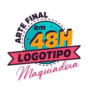 Criação de Logo, Logotipo, Logomarca simples para Maquiadoras em até 48h